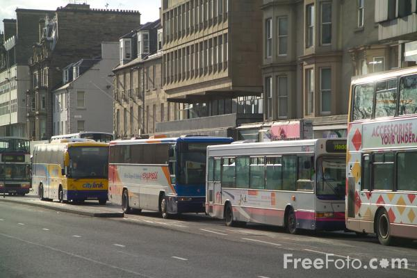 Some Edinburgh buses for you.