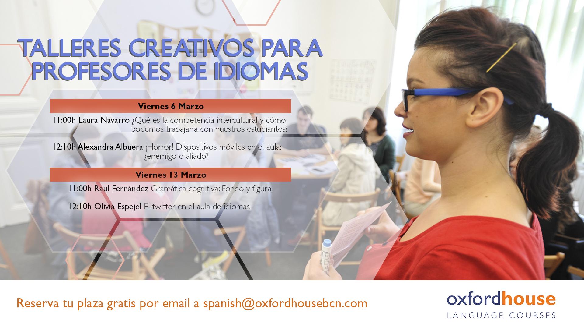 free spanish teacher workshops barcelona