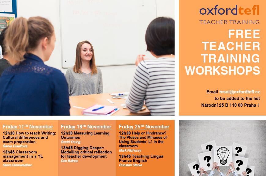 teacher training Prague