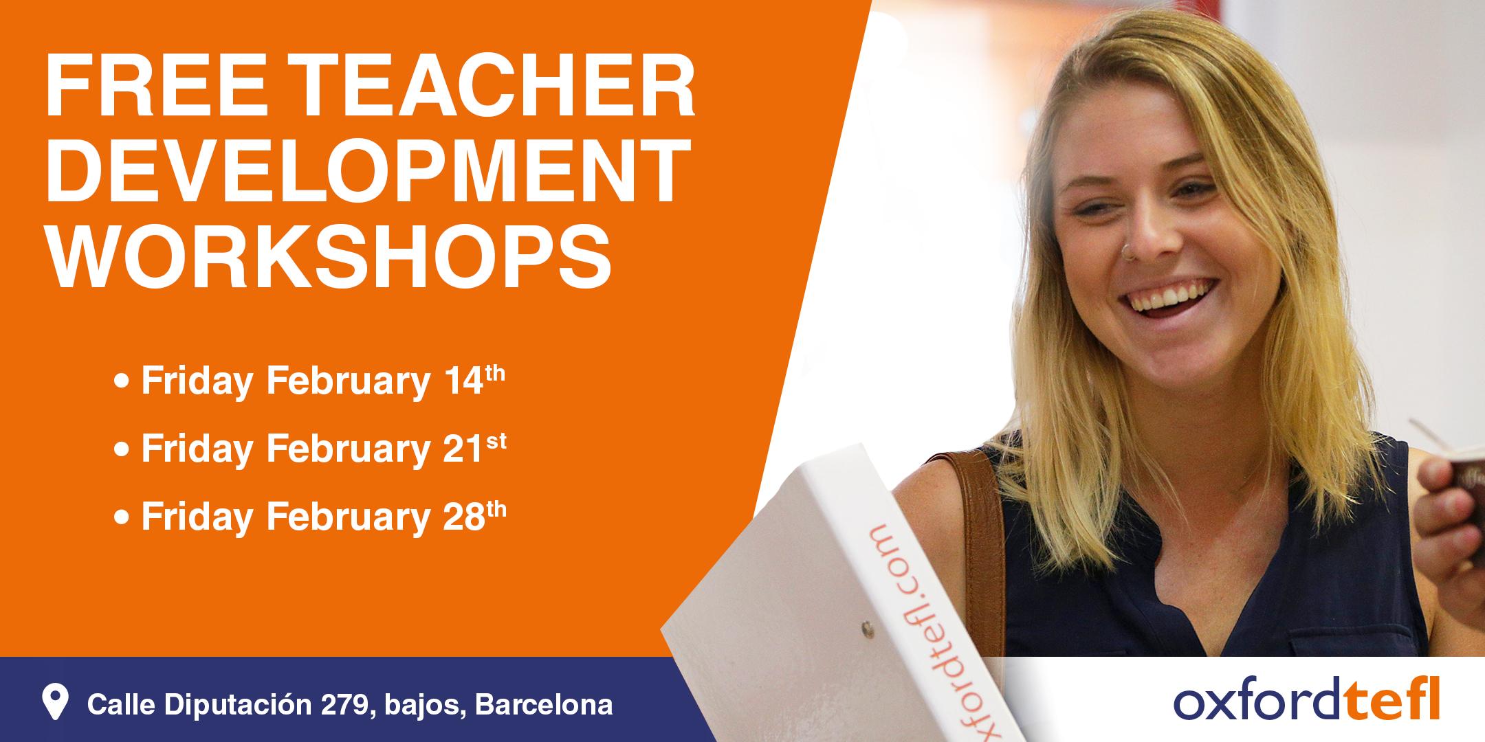 Free teacher training Barcelona