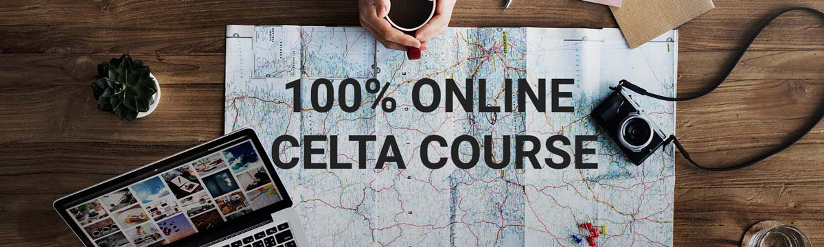 Online CELTA course