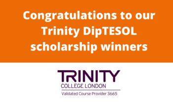 Trinity DipTESOL course