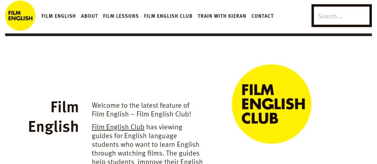 Film English face to face EFL classes